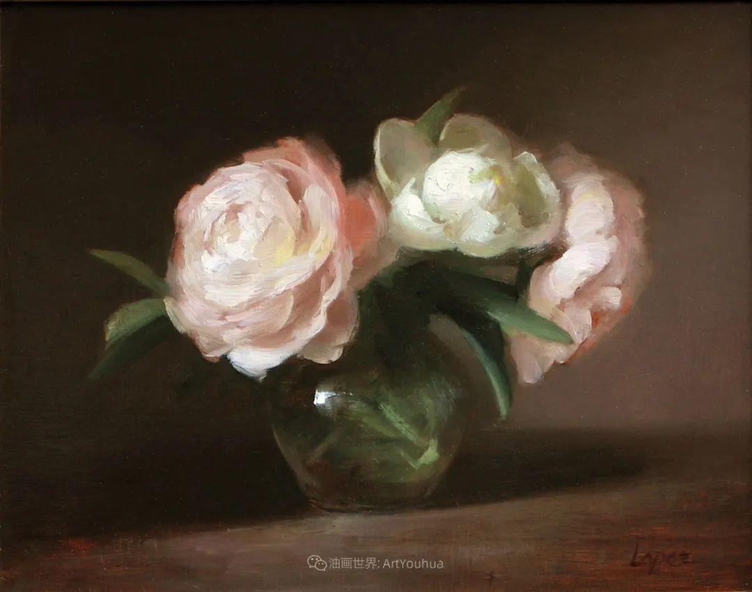 美国女画家莉亚·洛佩兹花卉静物选插图39