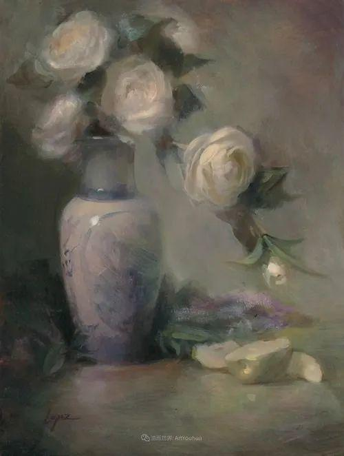 美国女画家莉亚·洛佩兹花卉静物选插图43