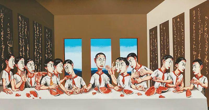 1.8亿天价艺术家曾梵志,最新作品出炉!插图2