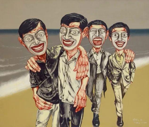 1.8亿天价艺术家曾梵志,最新作品出炉!插图19