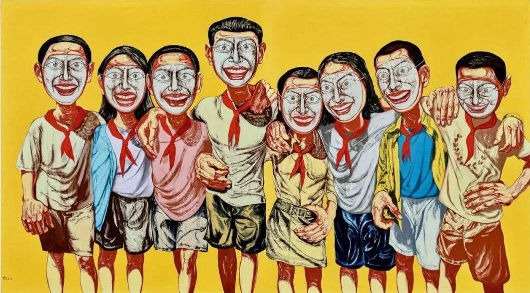 1.8亿天价艺术家曾梵志,最新作品出炉!插图20