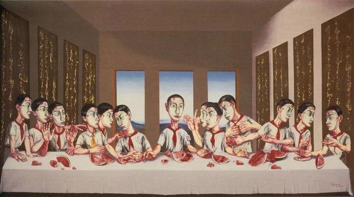 1.8亿天价艺术家曾梵志,最新作品出炉!插图21