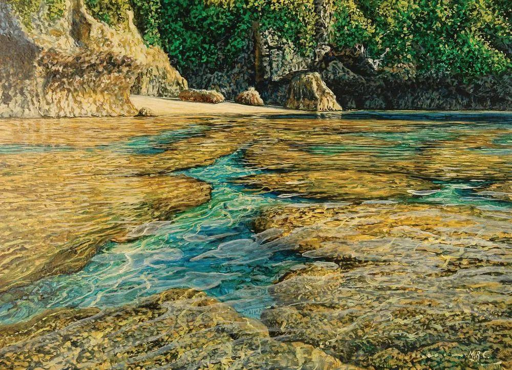 南太平洋最杰出的当代写实画家插图5