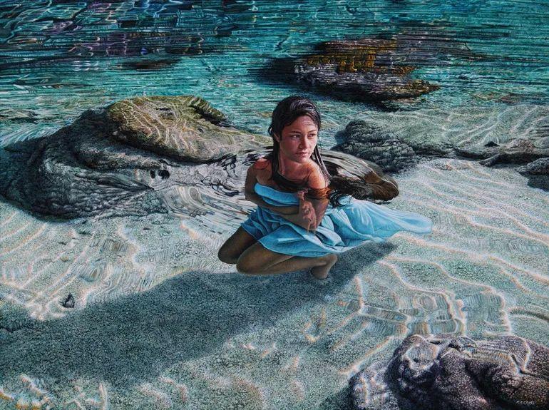 南太平洋最杰出的当代写实画家插图13