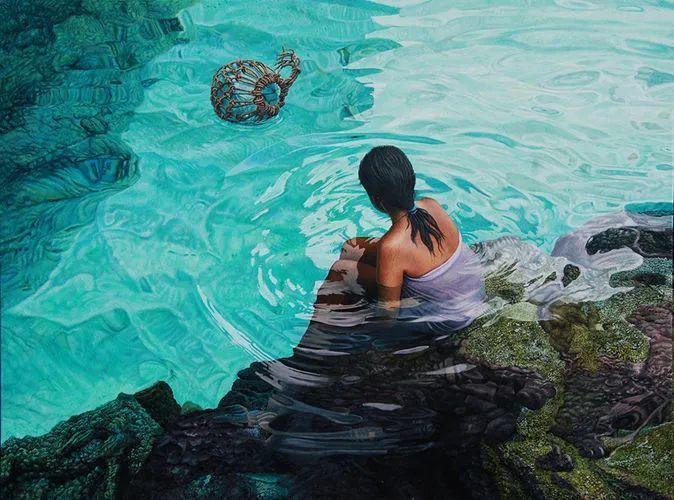 南太平洋最杰出的当代写实画家插图14