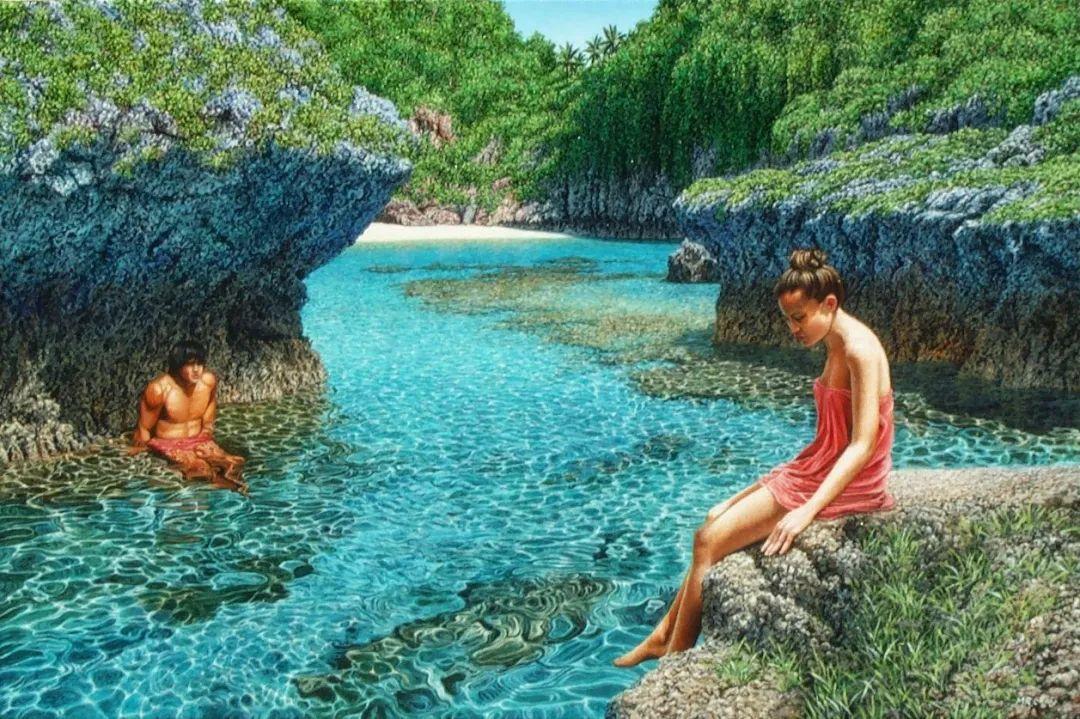 南太平洋最杰出的当代写实画家插图20