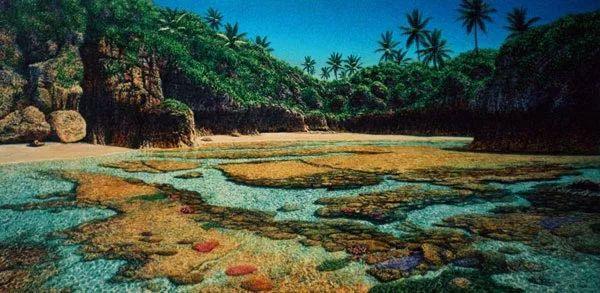 南太平洋最杰出的当代写实画家插图45