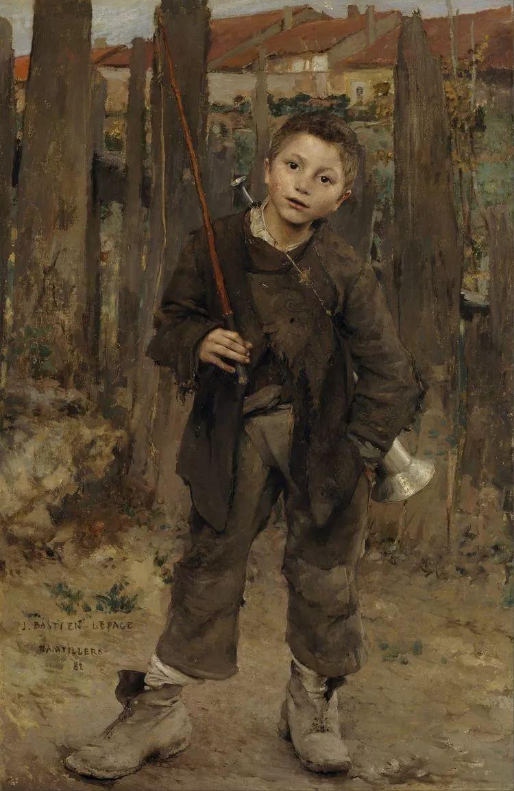 为生活,为平民而艺术,法国绘画大师勒帕热插图5