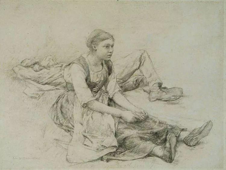 为生活,为平民而艺术,法国绘画大师勒帕热插图29