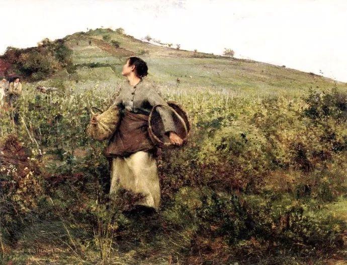 为生活,为平民而艺术,法国绘画大师勒帕热插图125