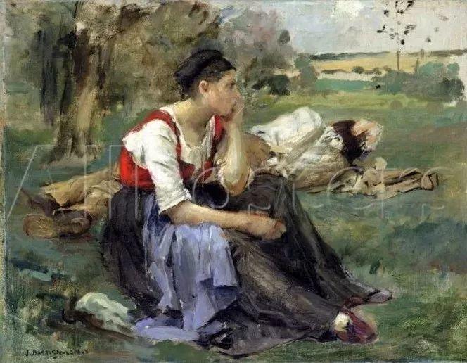 为生活,为平民而艺术,法国绘画大师勒帕热插图127