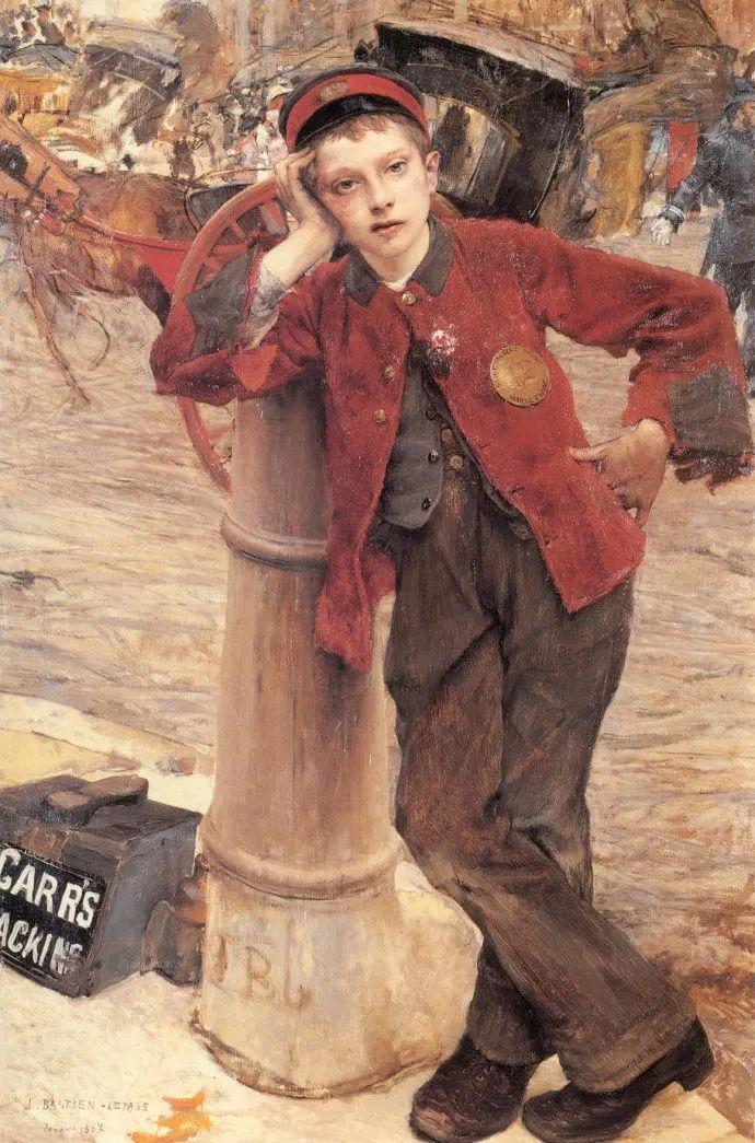为生活,为平民而艺术,法国绘画大师勒帕热插图145