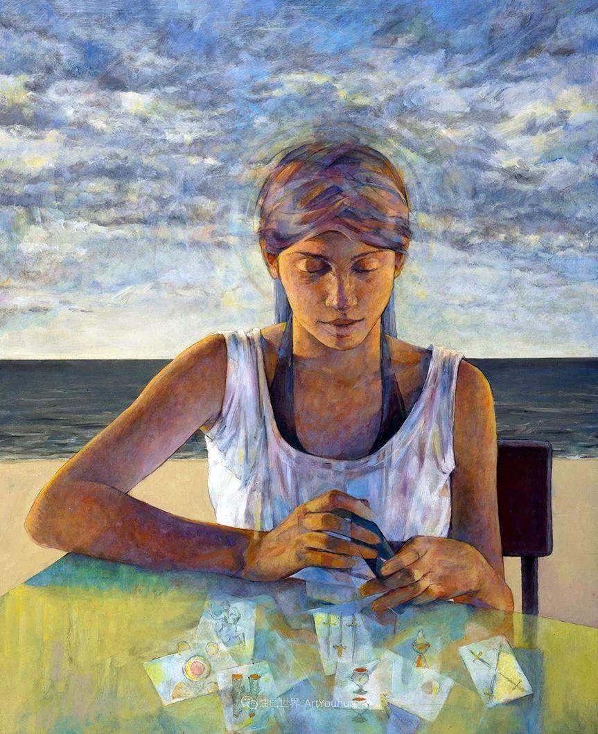风格独特的抽象肖像画家,法比恩·克莱斯插图3