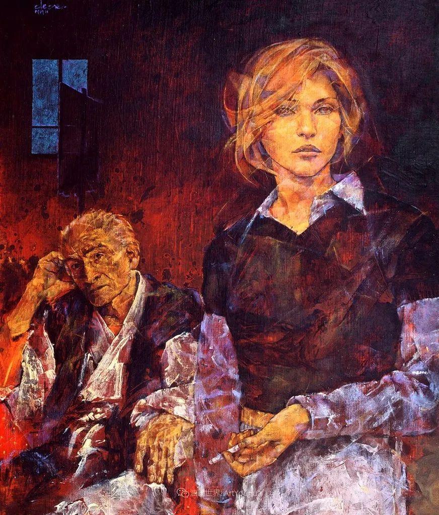 风格独特的抽象肖像画家,法比恩·克莱斯插图5