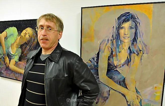 风格独特的抽象肖像画家,法比恩·克莱斯插图7