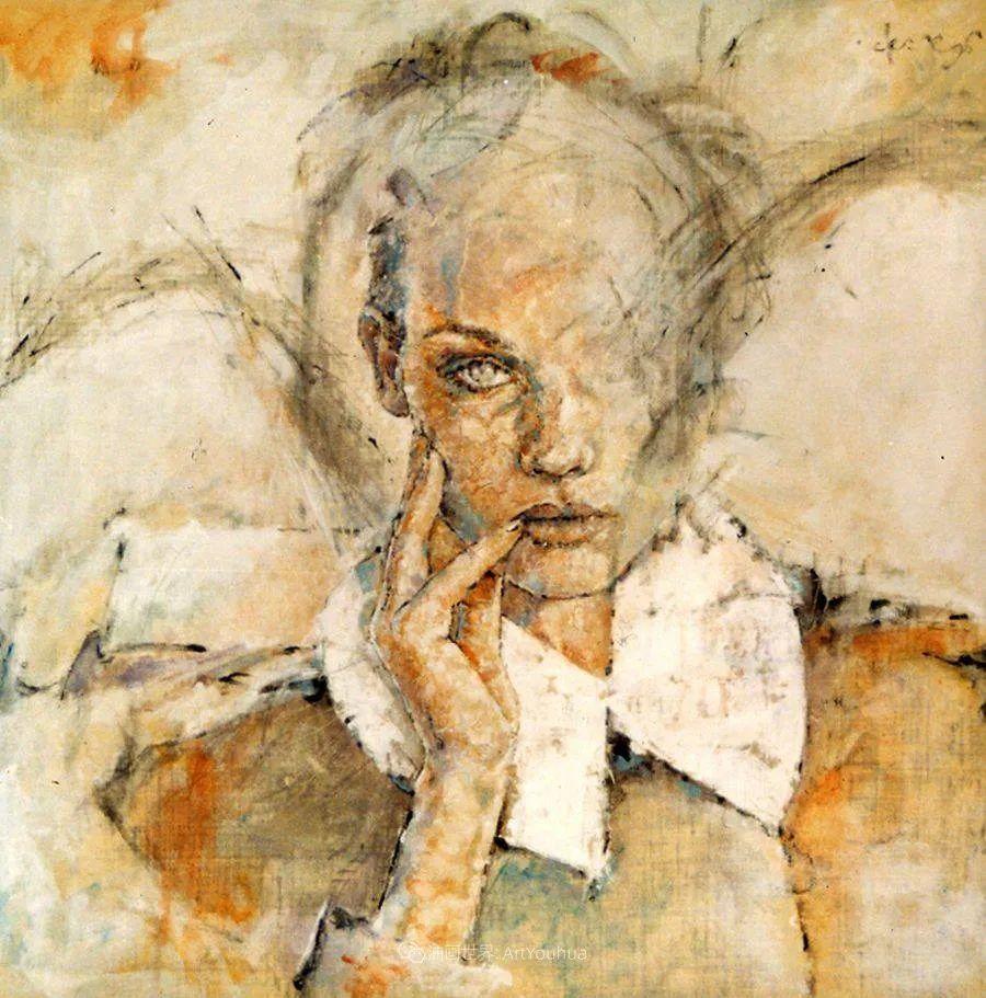 风格独特的抽象肖像画家,法比恩·克莱斯插图21