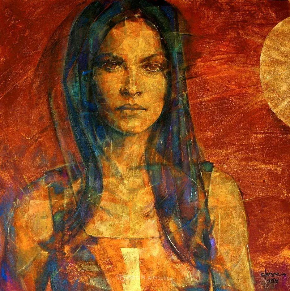 风格独特的抽象肖像画家,法比恩·克莱斯插图25