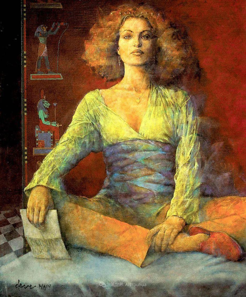 风格独特的抽象肖像画家,法比恩·克莱斯插图29