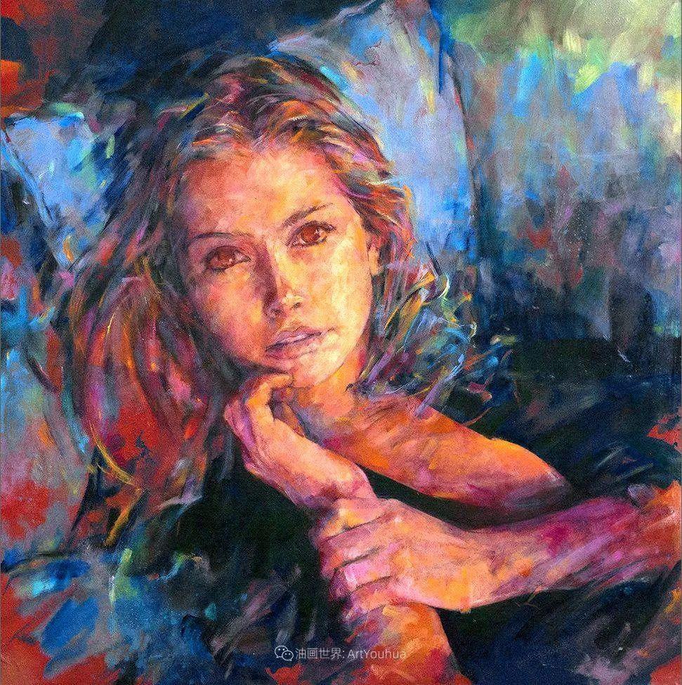 风格独特的抽象肖像画家,法比恩·克莱斯插图33