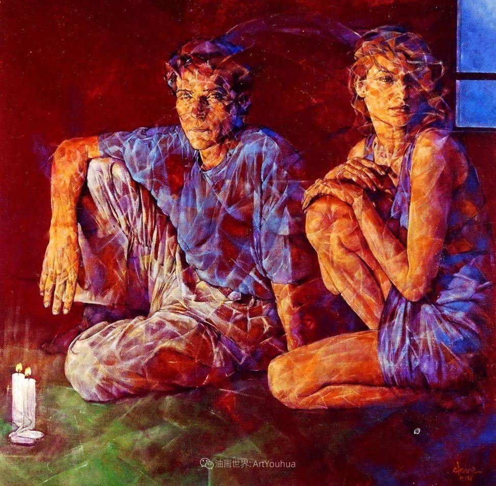 风格独特的抽象肖像画家,法比恩·克莱斯插图35
