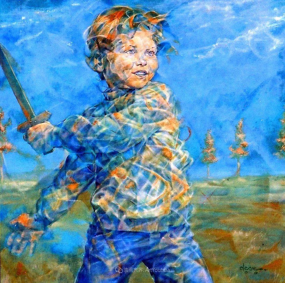 风格独特的抽象肖像画家,法比恩·克莱斯插图47