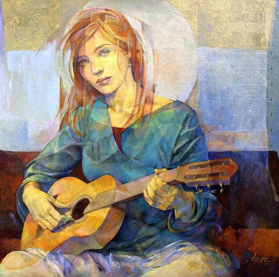 风格独特的抽象肖像画家,法比恩·克莱斯插图51