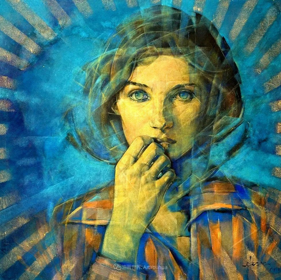 风格独特的抽象肖像画家,法比恩·克莱斯插图55