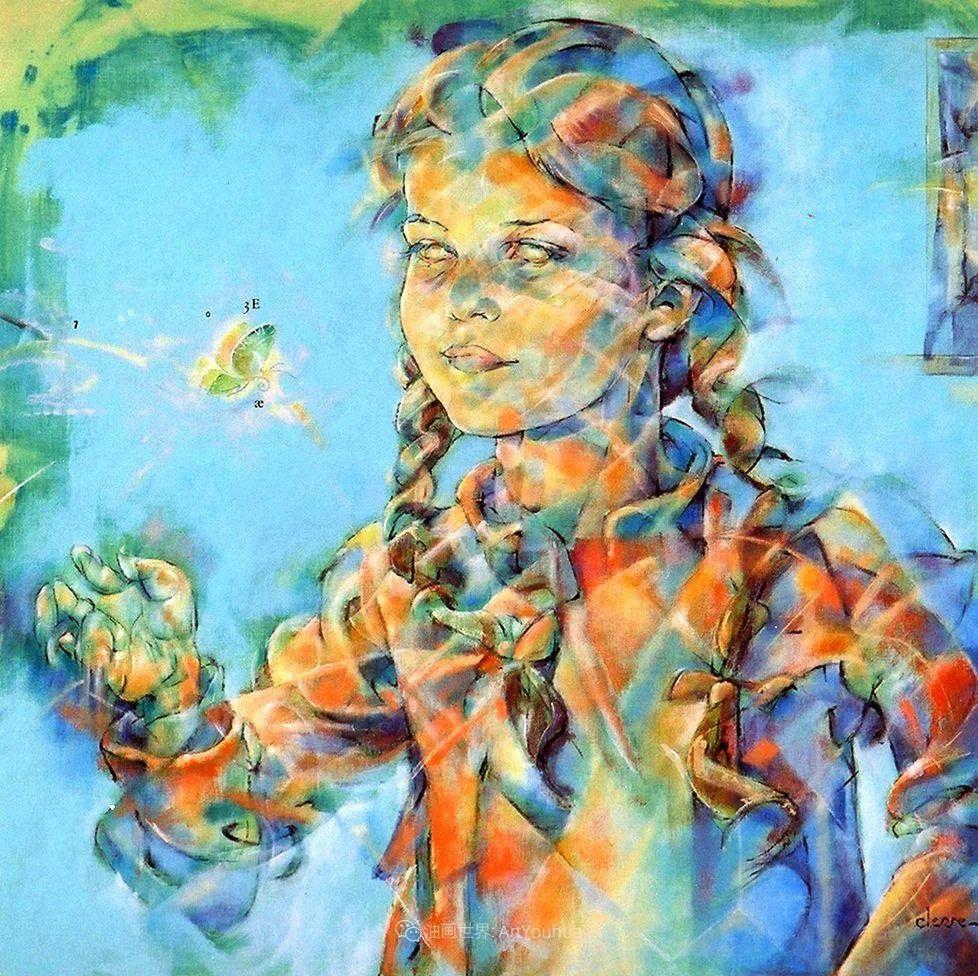 风格独特的抽象肖像画家,法比恩·克莱斯插图57