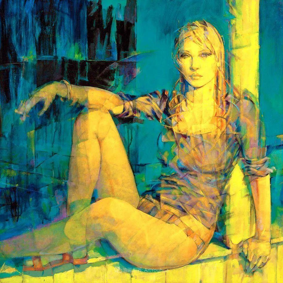 风格独特的抽象肖像画家,法比恩·克莱斯插图59