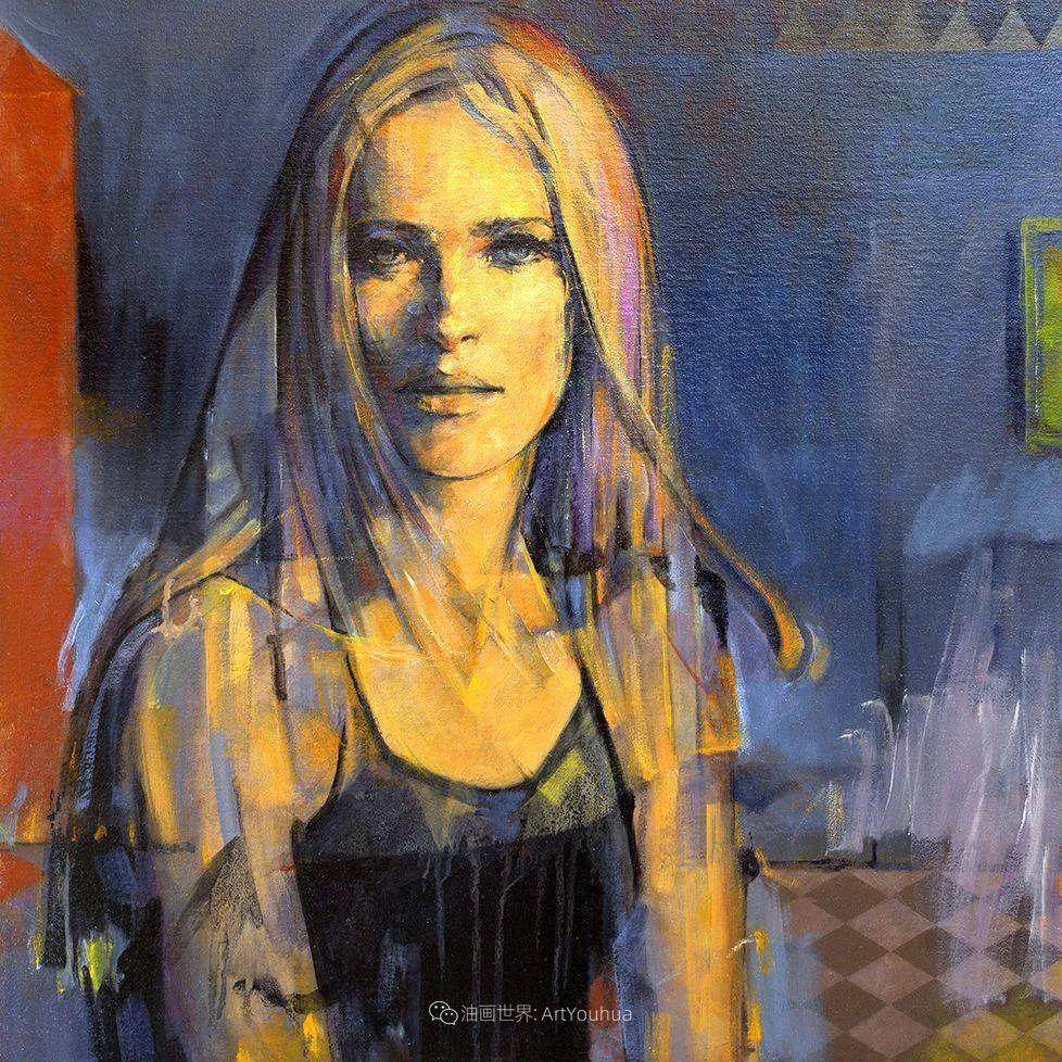 风格独特的抽象肖像画家,法比恩·克莱斯插图61
