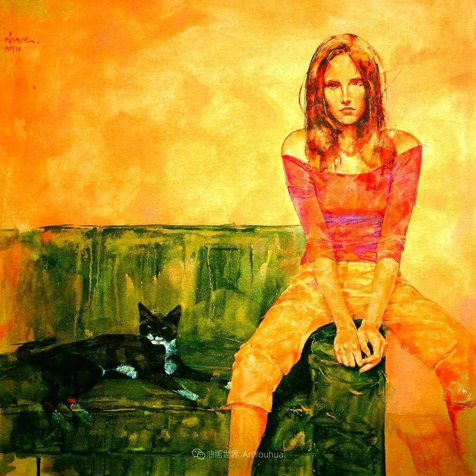 风格独特的抽象肖像画家,法比恩·克莱斯插图63
