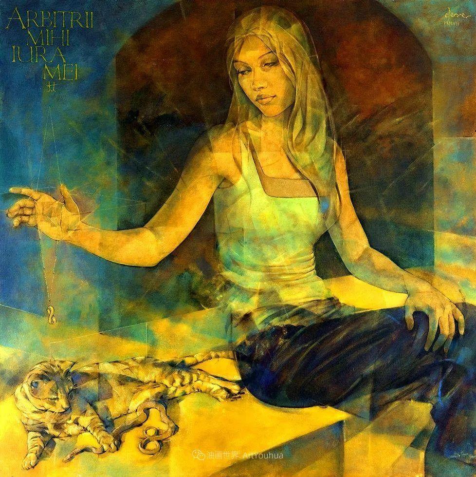 风格独特的抽象肖像画家,法比恩·克莱斯插图67