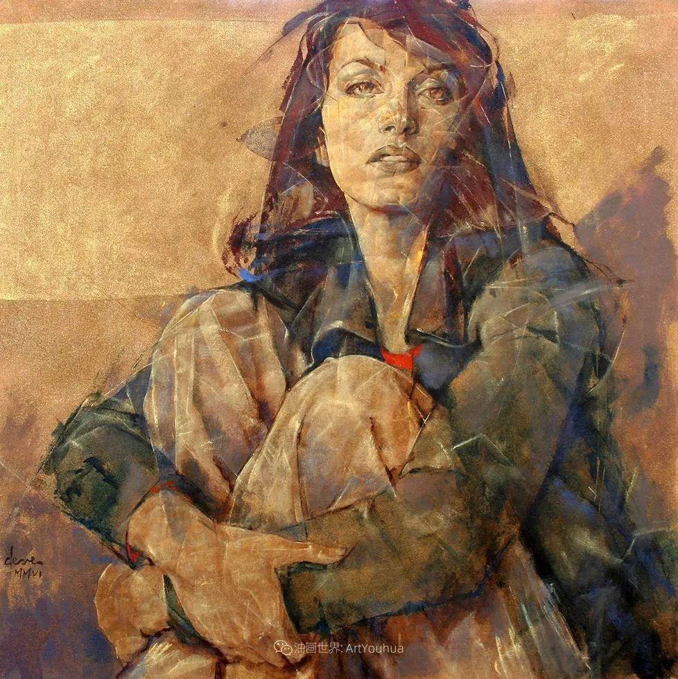 风格独特的抽象肖像画家,法比恩·克莱斯插图71
