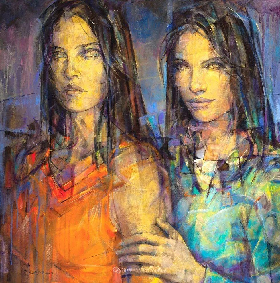 风格独特的抽象肖像画家,法比恩·克莱斯插图83
