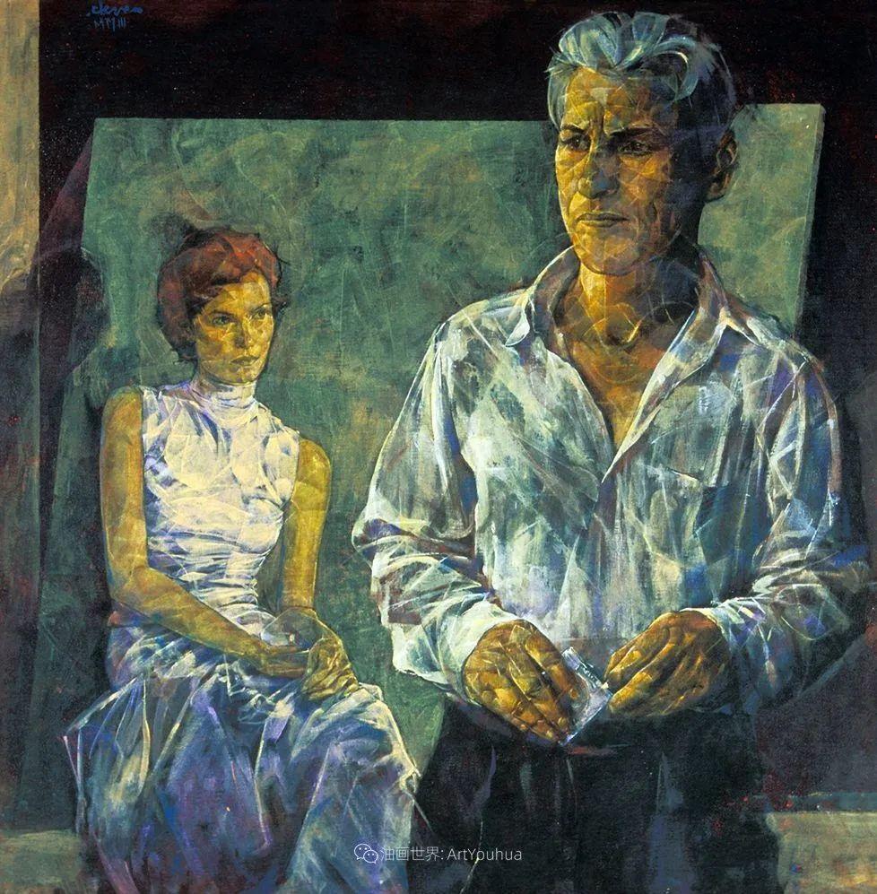 风格独特的抽象肖像画家,法比恩·克莱斯插图89