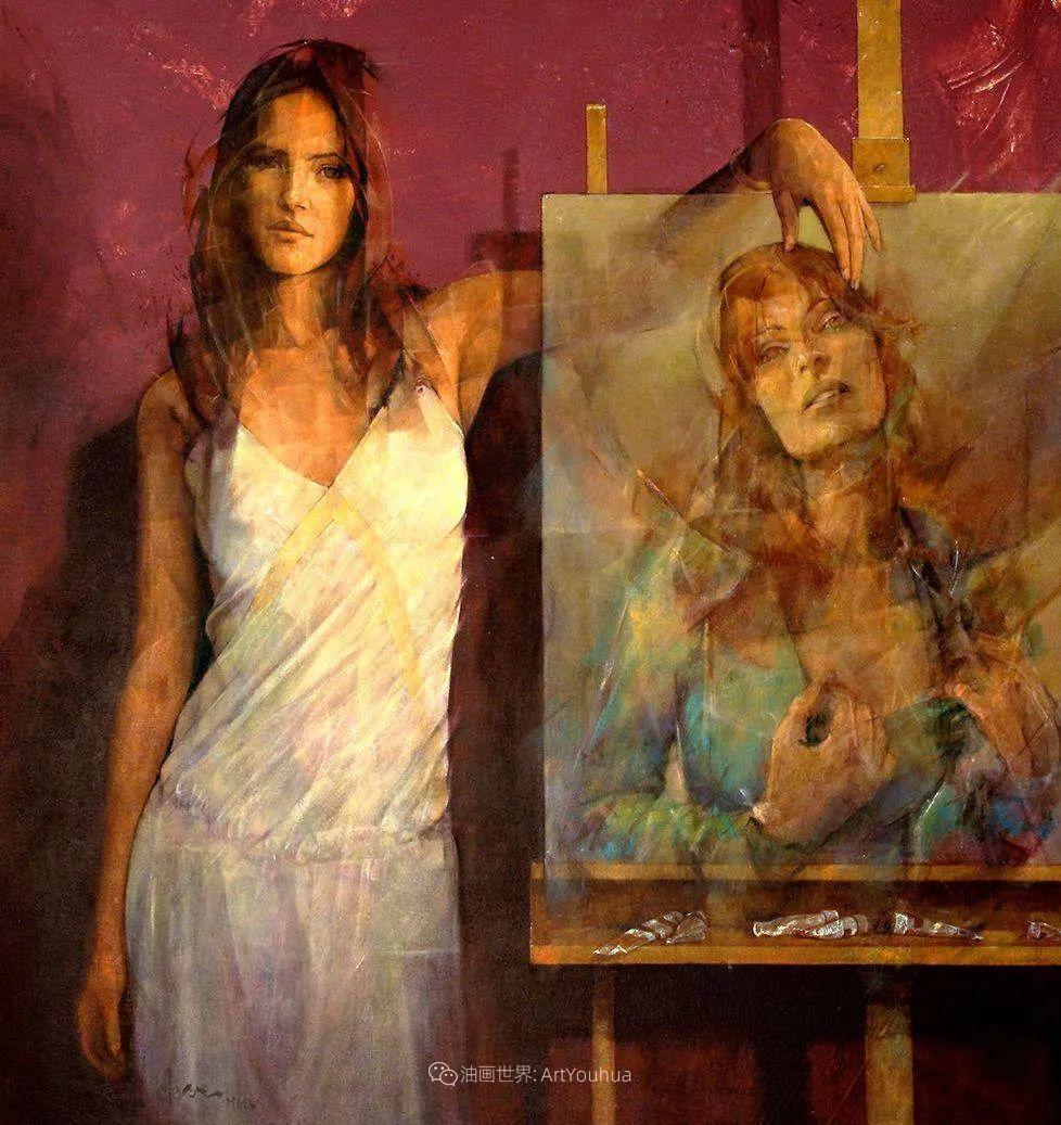风格独特的抽象肖像画家,法比恩·克莱斯插图91
