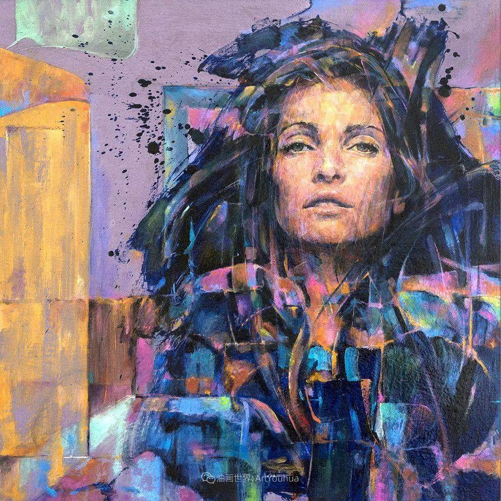 风格独特的抽象肖像画家,法比恩·克莱斯插图93