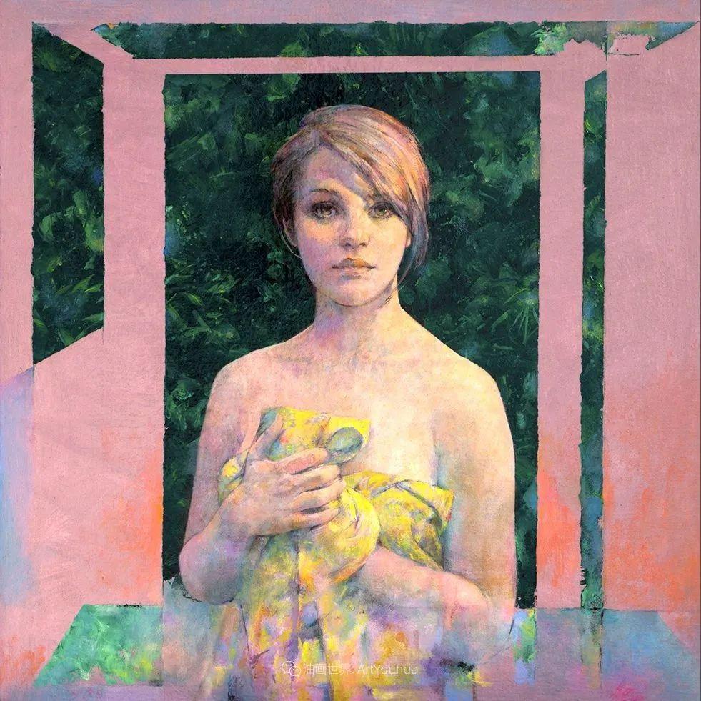 风格独特的抽象肖像画家,法比恩·克莱斯插图99