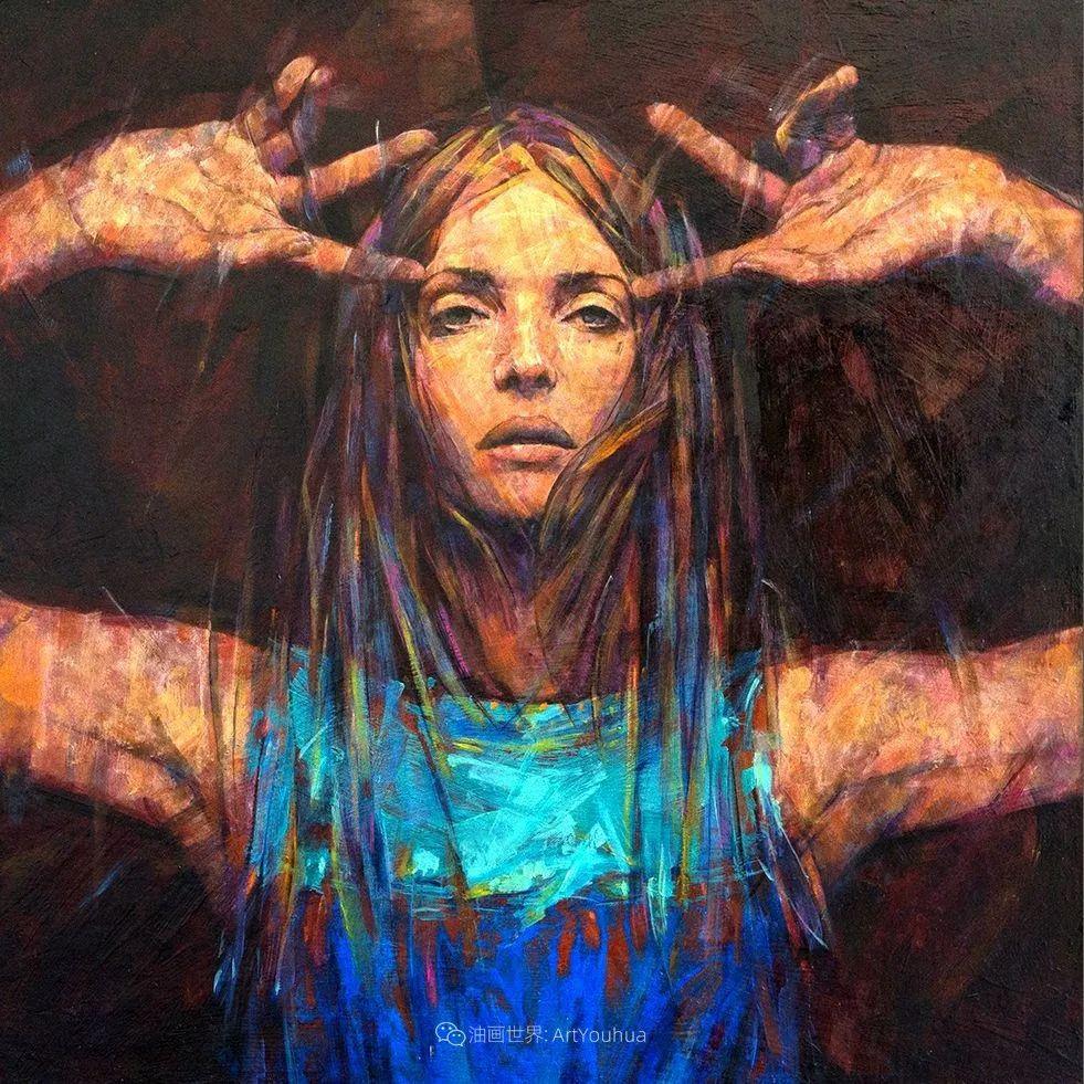 风格独特的抽象肖像画家,法比恩·克莱斯插图101