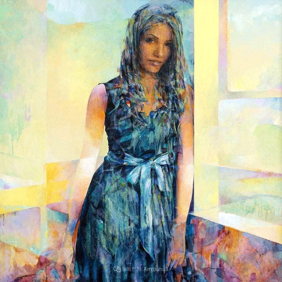 风格独特的抽象肖像画家,法比恩·克莱斯插图103