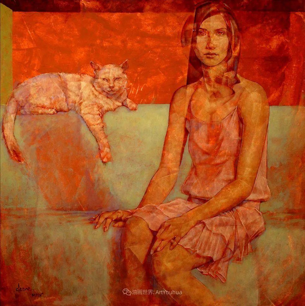 风格独特的抽象肖像画家,法比恩·克莱斯插图109