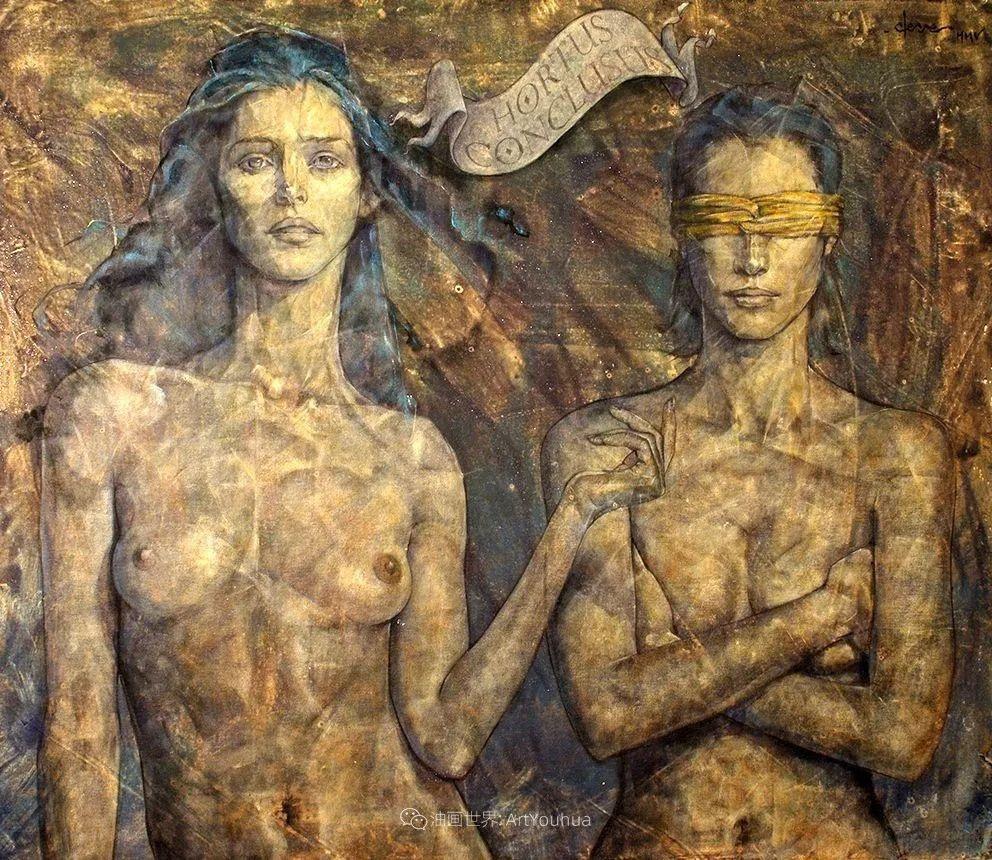 风格独特的抽象肖像画家,法比恩·克莱斯插图111