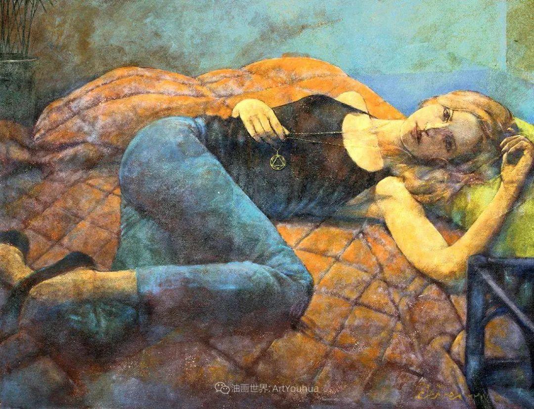 风格独特的抽象肖像画家,法比恩·克莱斯插图113
