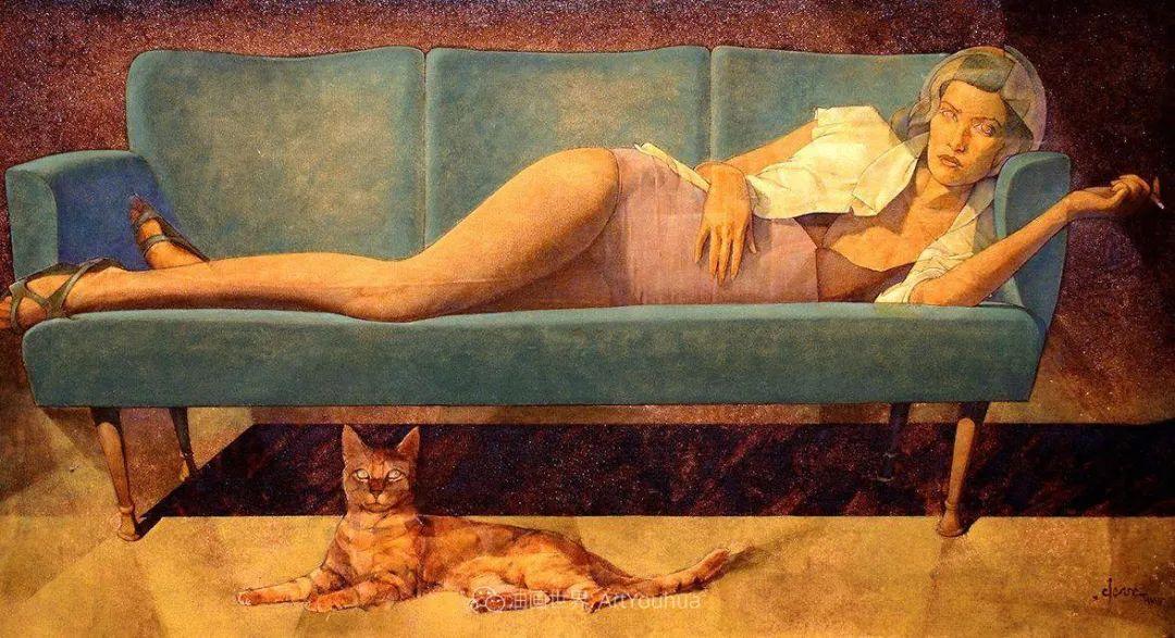 风格独特的抽象肖像画家,法比恩·克莱斯插图121