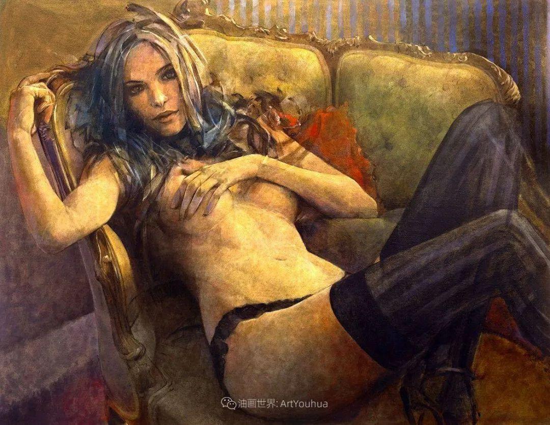风格独特的抽象肖像画家,法比恩·克莱斯插图123