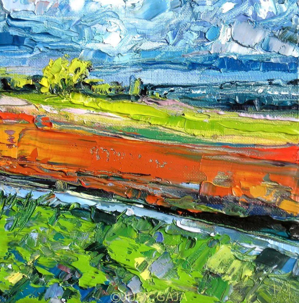 她的刀画充满了色彩,光线和生命插图11