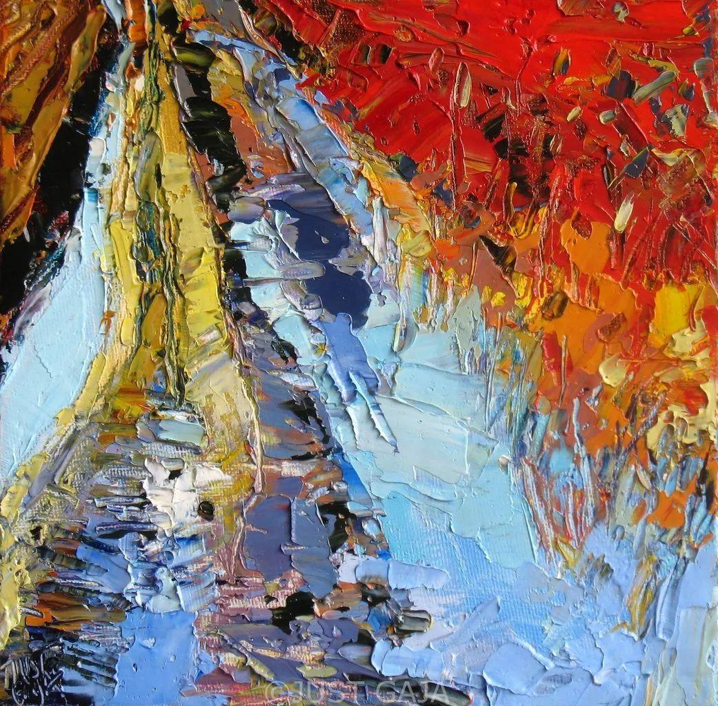 她的刀画充满了色彩,光线和生命插图43