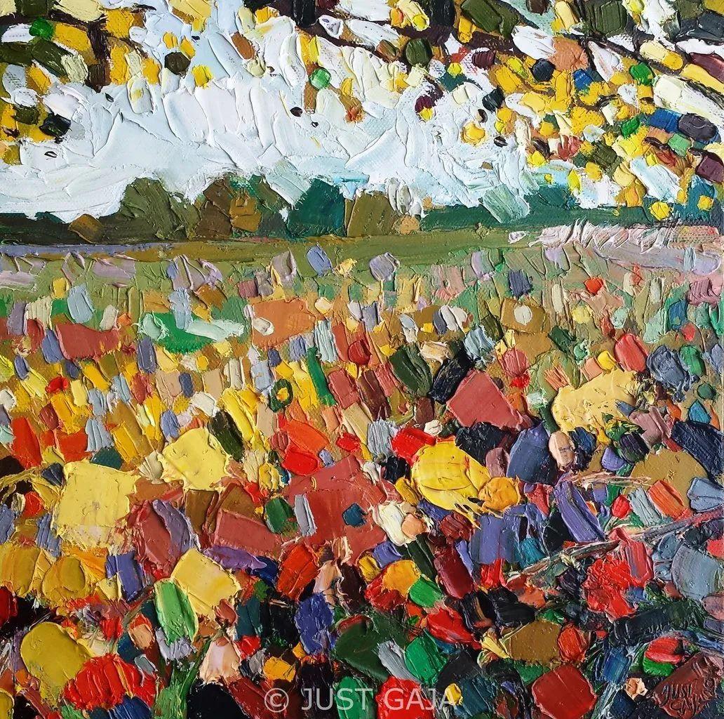 她的刀画充满了色彩,光线和生命插图53