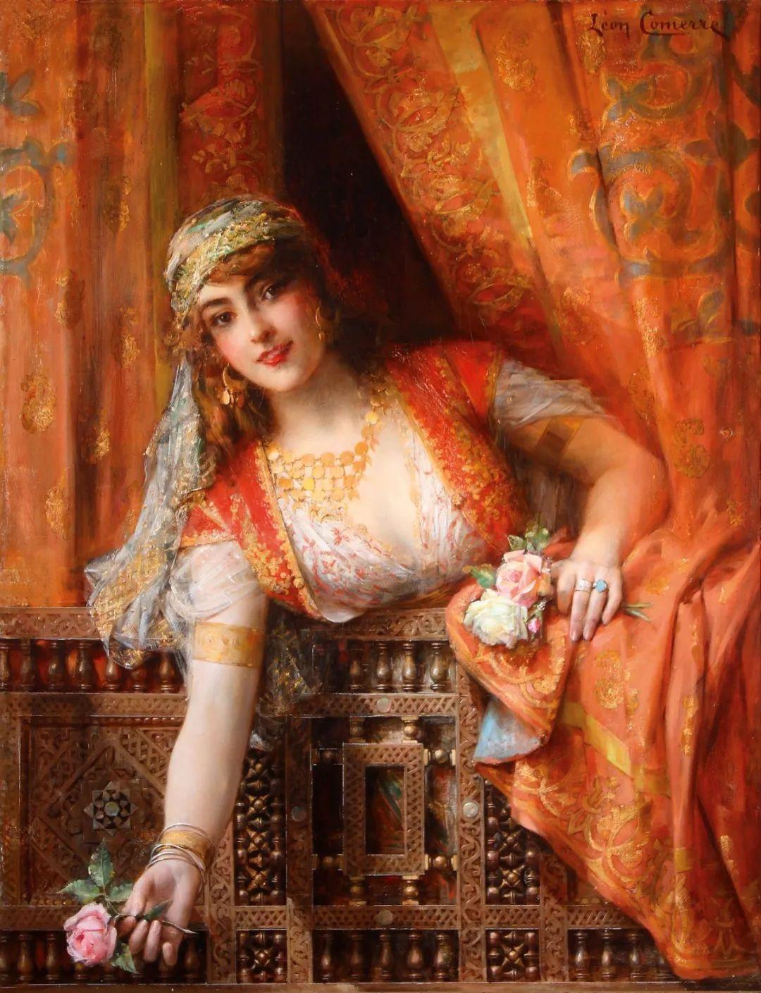 法国学院派画家科默尔,笔下的美丽女性插图9