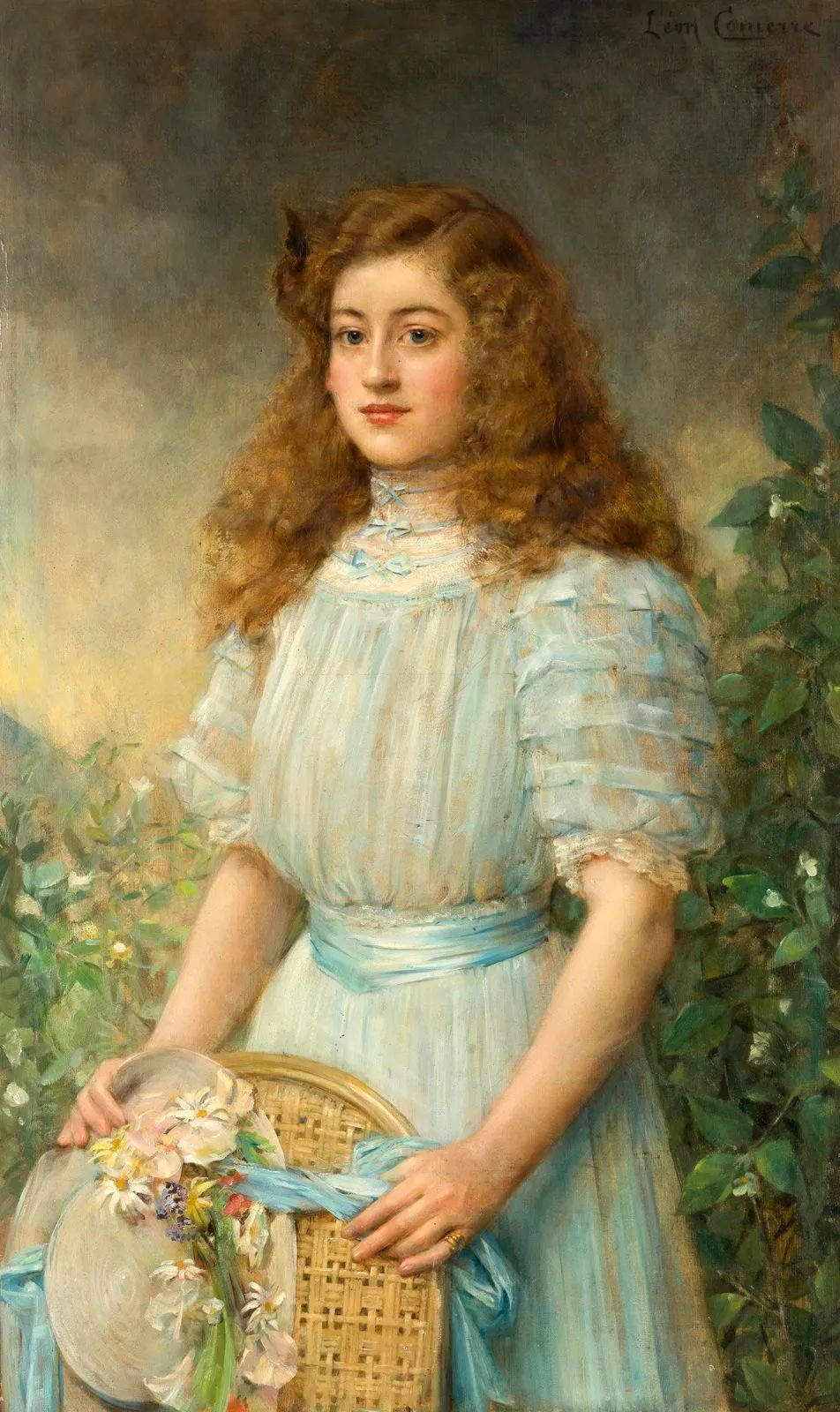 法国学院派画家科默尔,笔下的美丽女性插图11